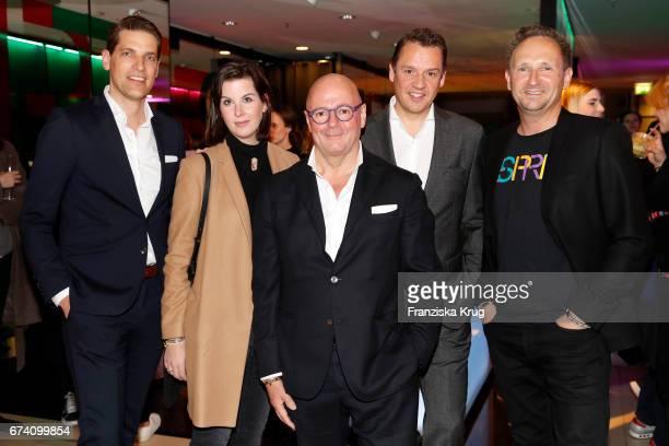 Nico Heinemann Simone Heift Andre Maeder Knut Brokelmann and Arnd Mueller attend the KaDeWe Launch Event 'Esprit by Opening Ceremony' on April 27...