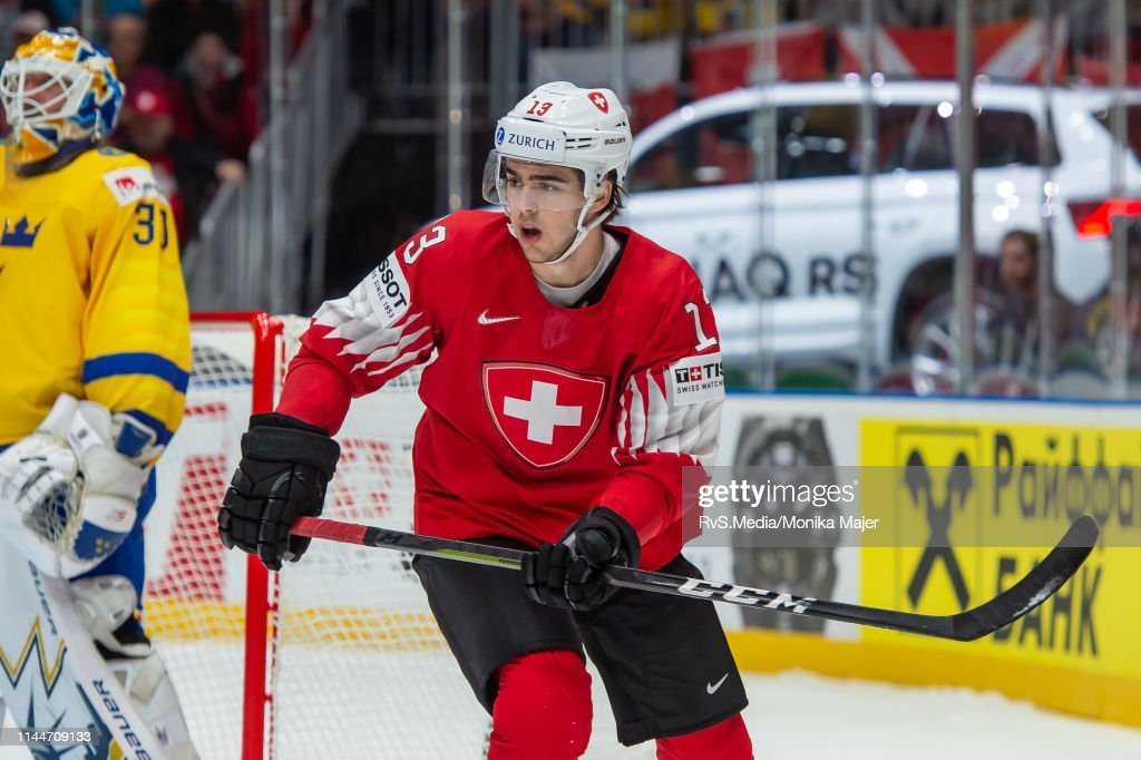 SVK: Sweden v Switzerland: Group B - 2019 IIHF Ice Hockey World Championship Slovakia