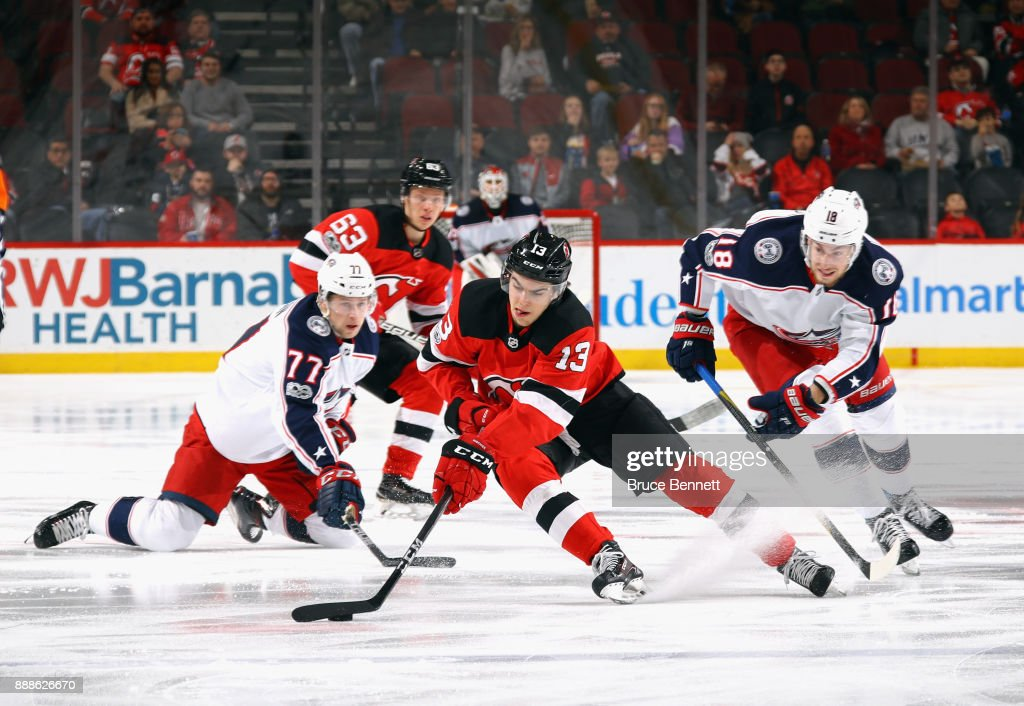 Columbus Blue Jackets v New Jersey Devils : News Photo