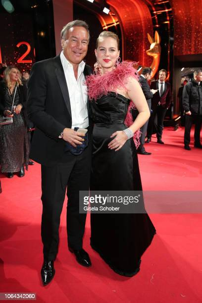 Nico Hofmann and Alicia von Rittberg during the Bambi Awards 2018 Arrivals at Stage Theater on November 16 2018 in Berlin Germany