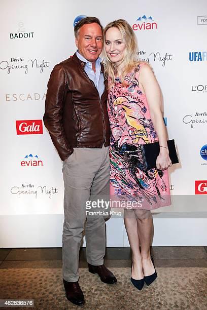Nico Hofmann and Anne Meyer-Minnemann attend the 'Berlin Opening Night Of Gala & Ufa Fiction on February 05, 2015 in Berlin, Germany.