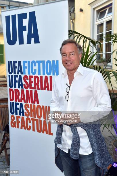 Nico Hofmann attends the UFA Fiction Reception during the Munich Film Festival 2016 at Cafe Reitschule on July 2 2018 in Munich Germany