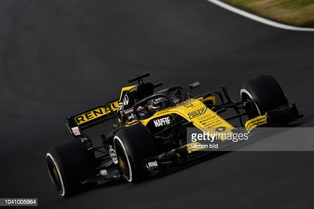 Nico Huelkenberg Renault F1 Team formula 1 GP Test Barcelona Spanien