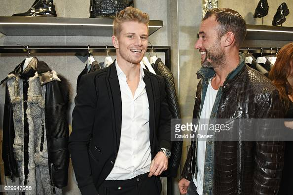 fa67e6d72c Nico Hulkenberg and Philipp Plein attend a cocktail party hosted by... News  Photo - Getty Images