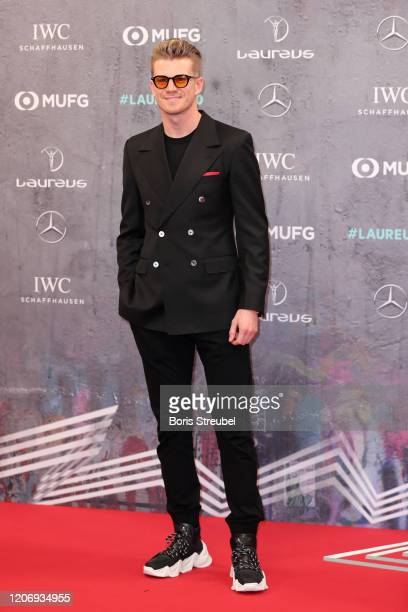 Nico Hulkenberg attends the 2020 Laureus World Sports Awards at Verti Music Hall on February 17, 2020 in Berlin, Germany.