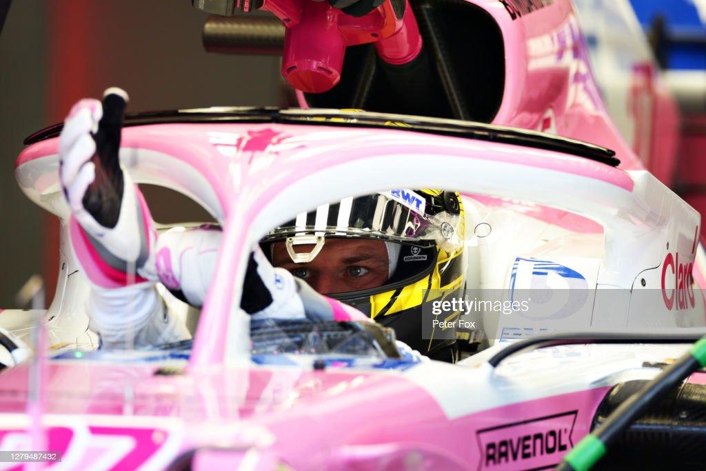 F1 Eifel Grand Prix - Qualifying : News Photo