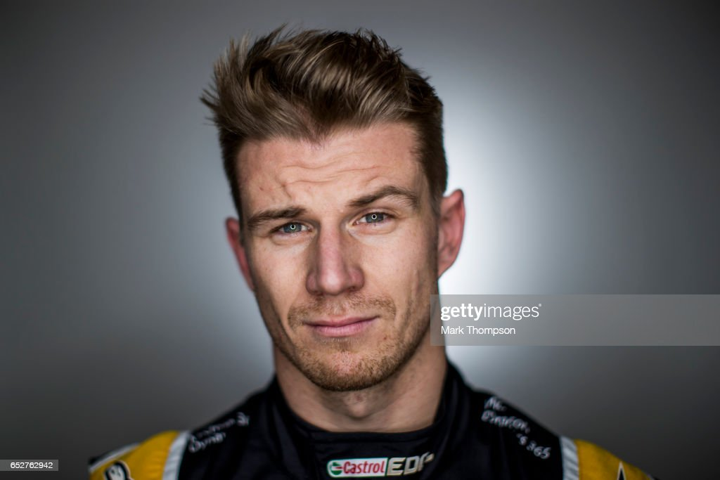 Nico Hulkenberg of Germany and Renault Sport F1 poses for a portrait during day two of Formula One winter testing at Circuit de Catalunya on March 8, 2017 in Montmelo, Spain.