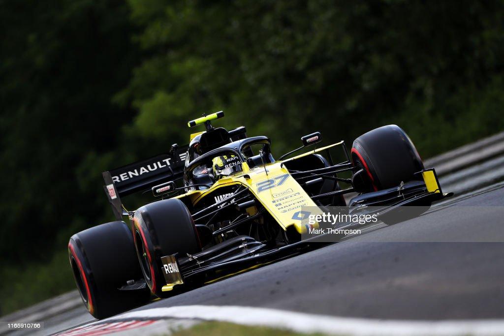 F1 Grand Prix of Hungary - Final Practice : News Photo