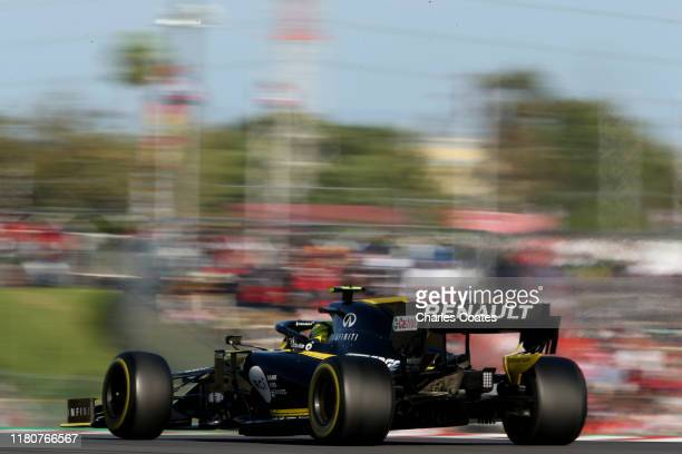 Nico Hulkenberg of Germany driving the Renault Sport Formula One Team RS19 on track during the F1 Grand Prix of Japan at Suzuka Circuit on October...
