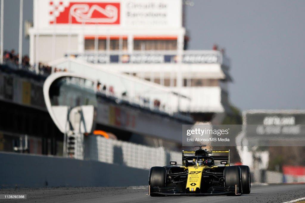 F1 Winter Testing in Barcelona - Day Four : ニュース写真