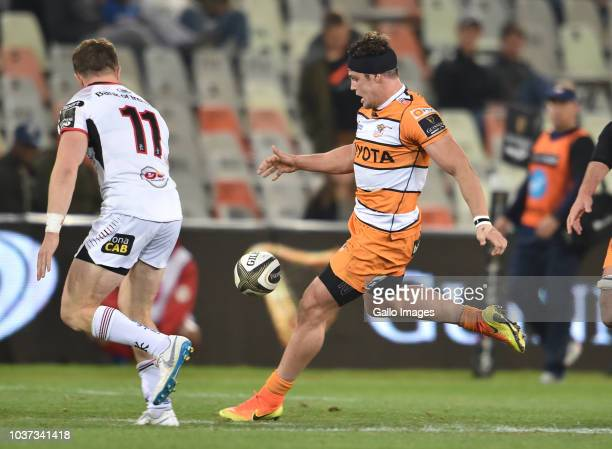 Nico Lee of the Toyota Cheetahs during the Guinness Pro14 match between Toyota Cheetahs and Ulster at Toyota Stadium on September 21 2018 in...