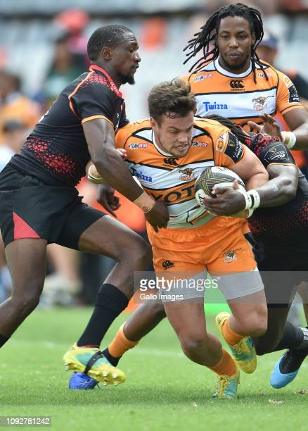 Nico Lee of the Toyota Cheetahs during the Guinness Pro14 match between Toyota Cheetahs and Isuzu Southern Kings at Toyota Stadium on February 02...