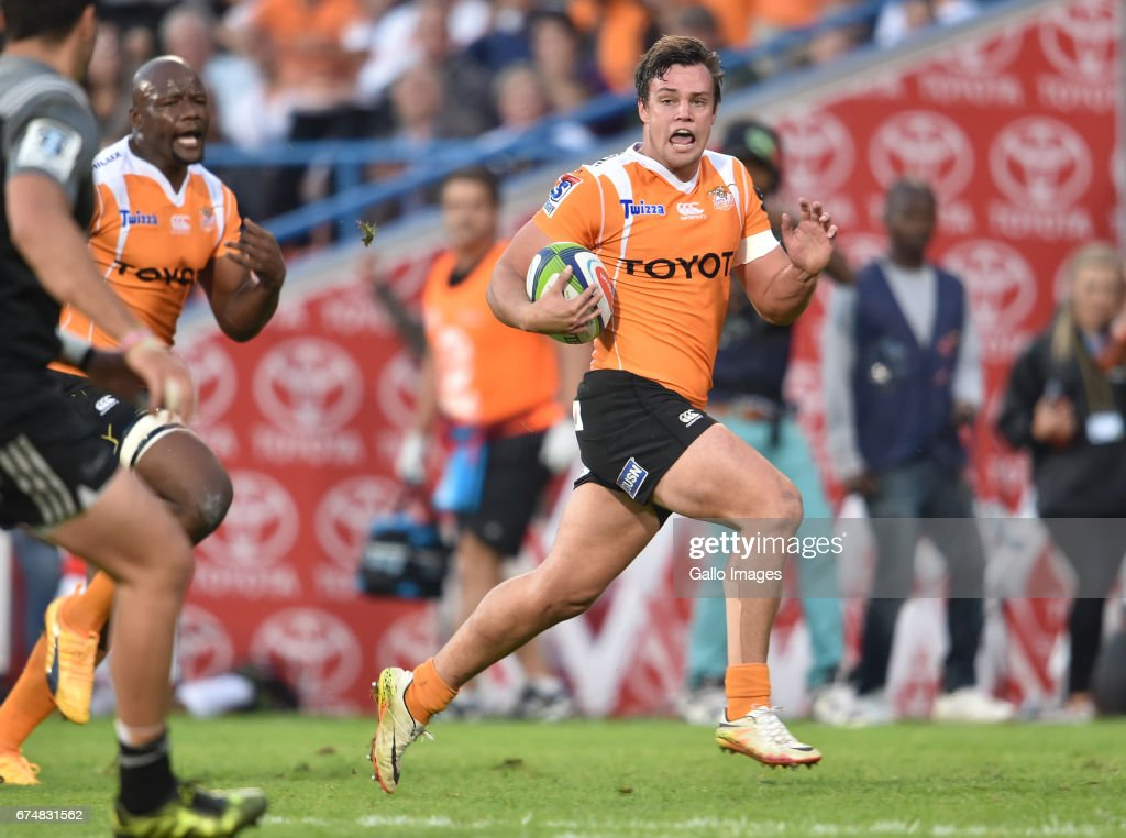 Super Rugby Rd 10 - Cheetahs v Crusaders : News Photo
