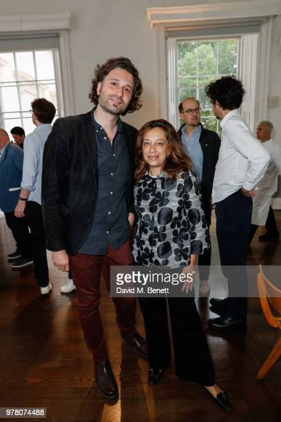 Nico Marzano and Paola Malagna attend The Institute of Contemporary Arts London celebrates the launch of it's newly founded ICA Independent Film...