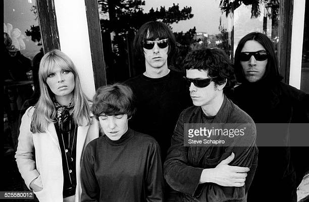 Nico Maureen Tucker Sterling Morrison Lou Reed and John Cale