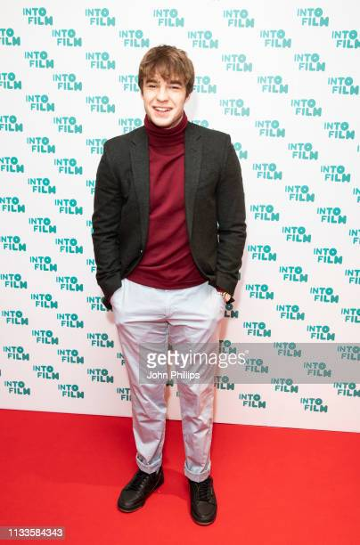 Nico Mirallegro attends the Into Film Award 2019 at Odeon Luxe Leicester Square on March 04 2019 in London England