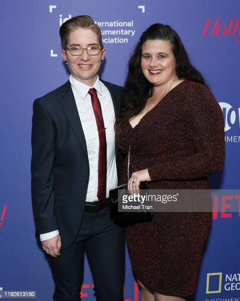 Nico Opper and Kristan Cassady attend the International Documentary Association's 35th Annual IDA Documentary Awards held at Paramount Studios on...
