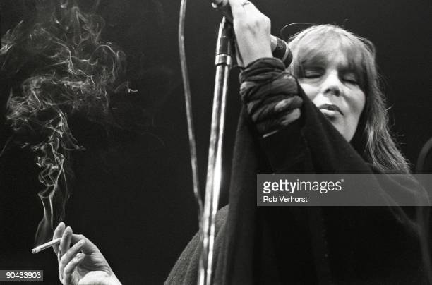Nico performing live onstage at De Lanteren Rotterdam in Holland on May 18 1984