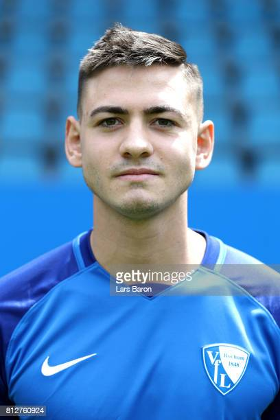 Nico Rieble of VfL Bochum poses during the team presentation at Vonovia Ruhrstadion on July 11 2017 in Bochum Germany