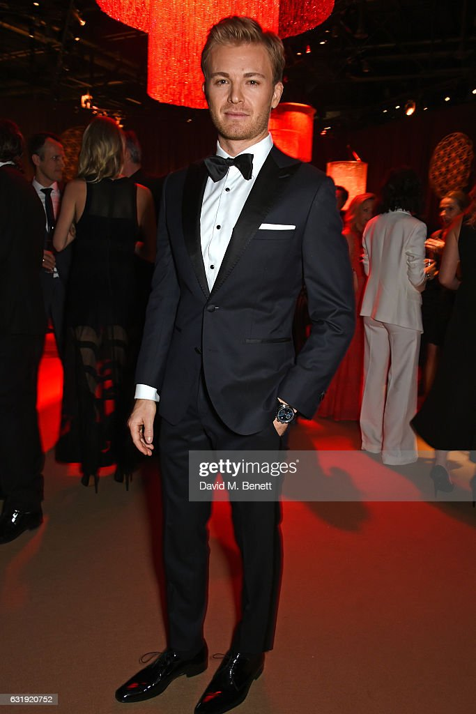 Nico Rosberg attends the IWC Schaffhausen 'Decoding the Beauty of Time' Gala Dinner during the launch of the Da Vinci Novelties from the Swiss luxury watch manufacturer IWC Schaffhausen at the Salon International de la Haute Horlogerie (SIHH) on January 17, 2017 in Geneva, .