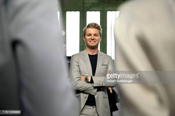 Nico Rosberg during day 1 of the Greentech Festival at Tempelhof Airport on May 23, 2019 in Berlin, Germany. The Greentech Festival is the first...