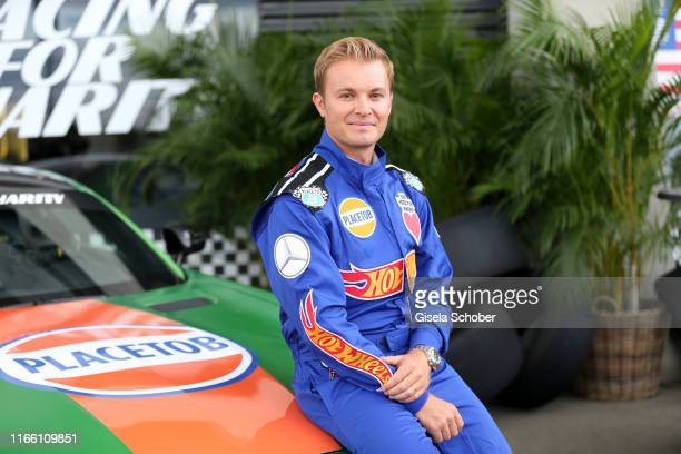 """Nico Rosberg, former Formula One World Champion, during the charity racing """"Place to B"""" for the benefit of """"Ein Herz fuer Kinder"""" on September 5,..."""