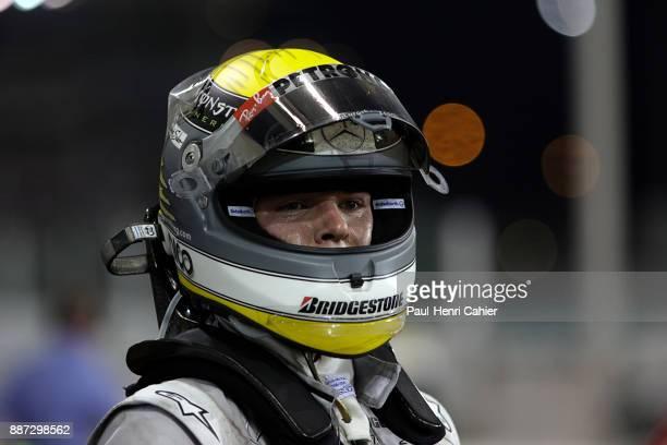 Nico Rosberg Grand Prix of Abu Dhabi Yas Marina Circuit 14 November 2010