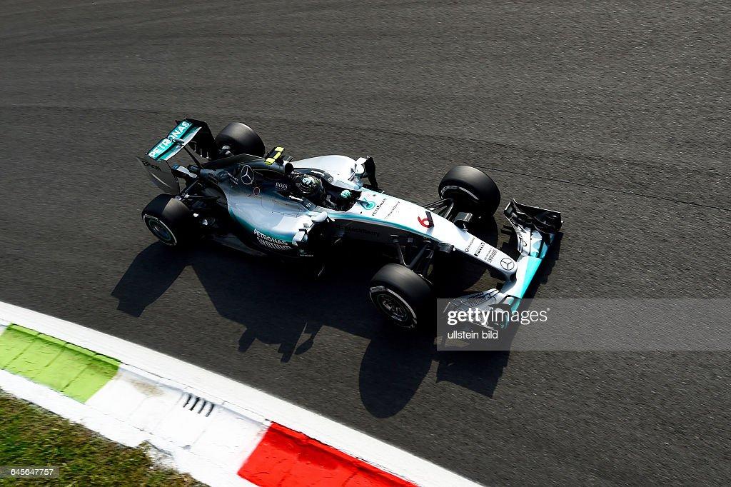 Nico Rosberg; formula 1 GP, Italien : News Photo