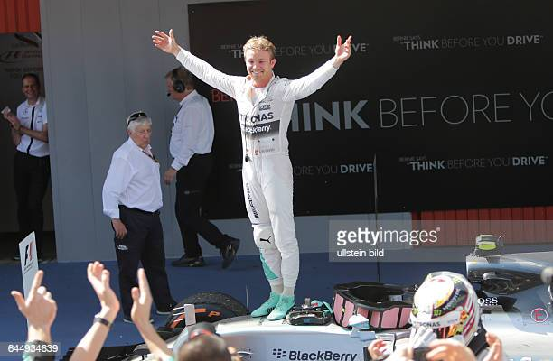 Nico Rosberg; Mercedes Grand Prix, formula 1 GP, Spanien in Barcelona