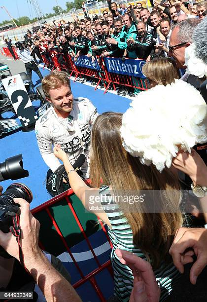 Nico Rosberg; Mercedes Grand Prix, Frau Vivien Schwanger, formula 1 GP, Spanien in Barcelona