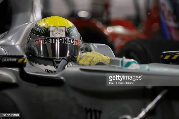 Nico Rosberg Mercedes MGP W01 Grand Prix of Abu Dhabi Yas Marina Circuit 14 November 2010