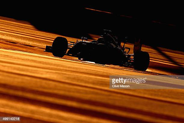Nico Rosberg of Germany and Mercedes GP drives during a reconnaissance lap before the Abu Dhabi Formula One Grand Prix at Yas Marina Circuit on...