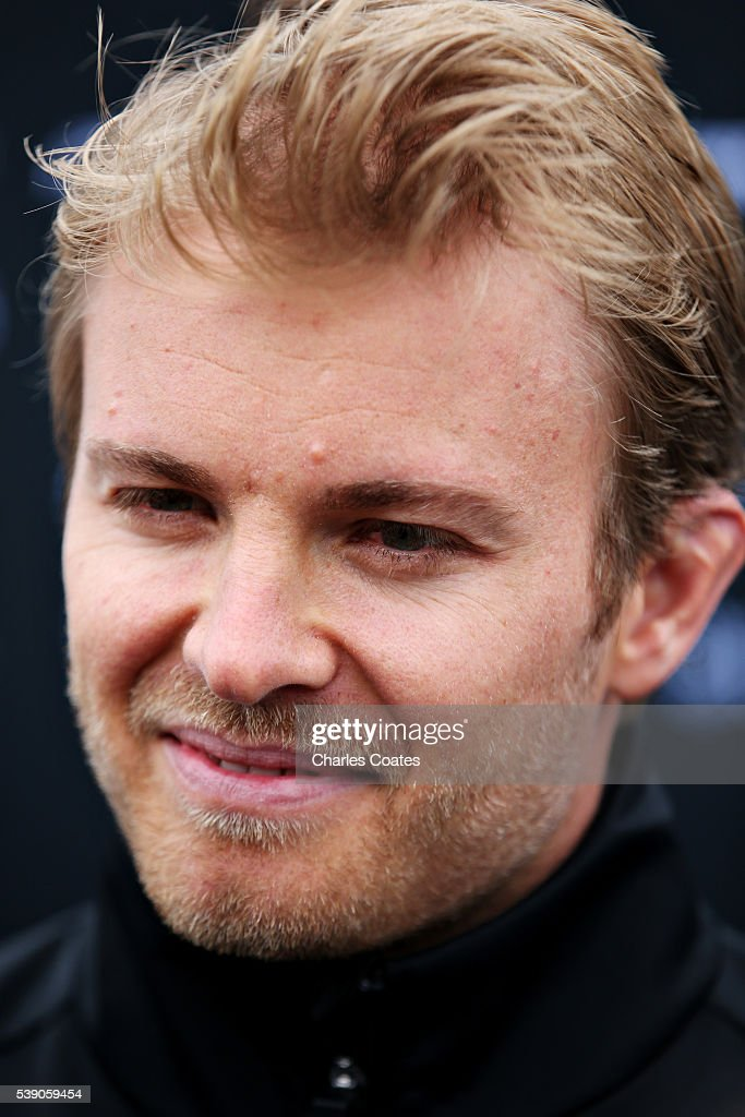 Nico Rosberg of Germany and Mercedes GP in the Paddock during previews to the Canadian Formula One Grand Prix at Circuit Gilles Villeneuve on June 9, 2016 in Montreal, Canada.
