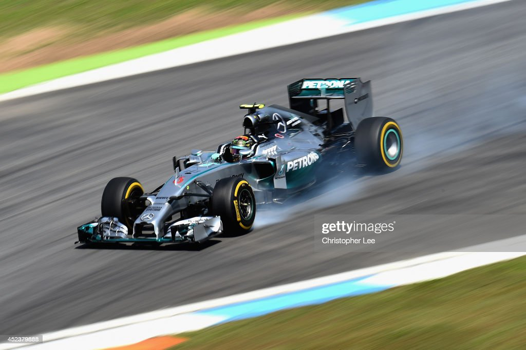 F1 Grand Prix of Germany - Qualifying : News Photo