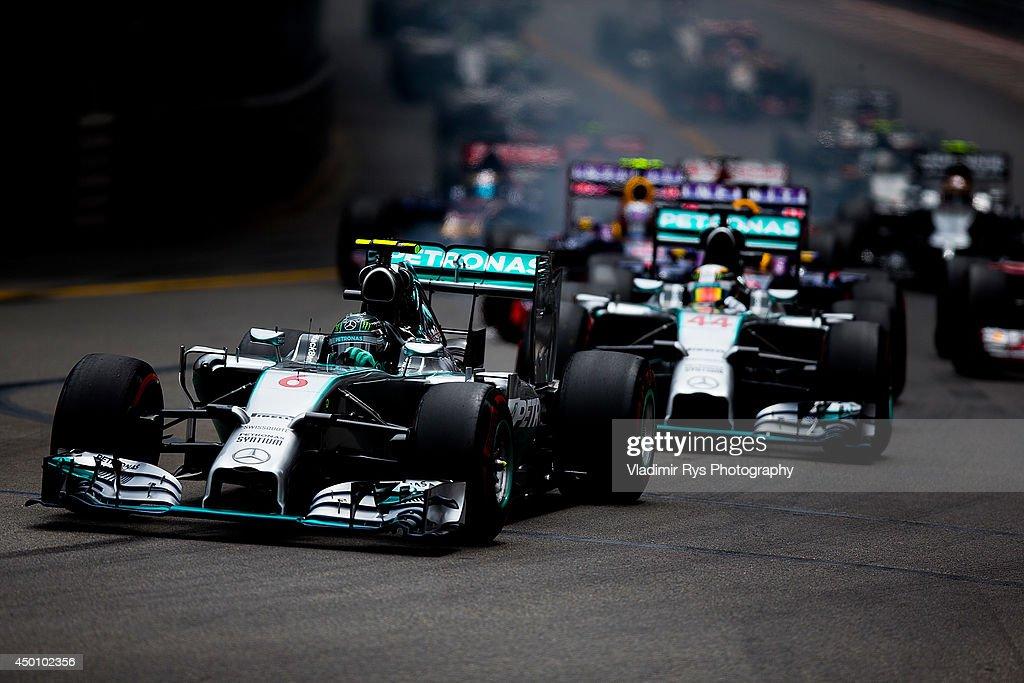 F1 Grand Prix of Monaco : News Photo