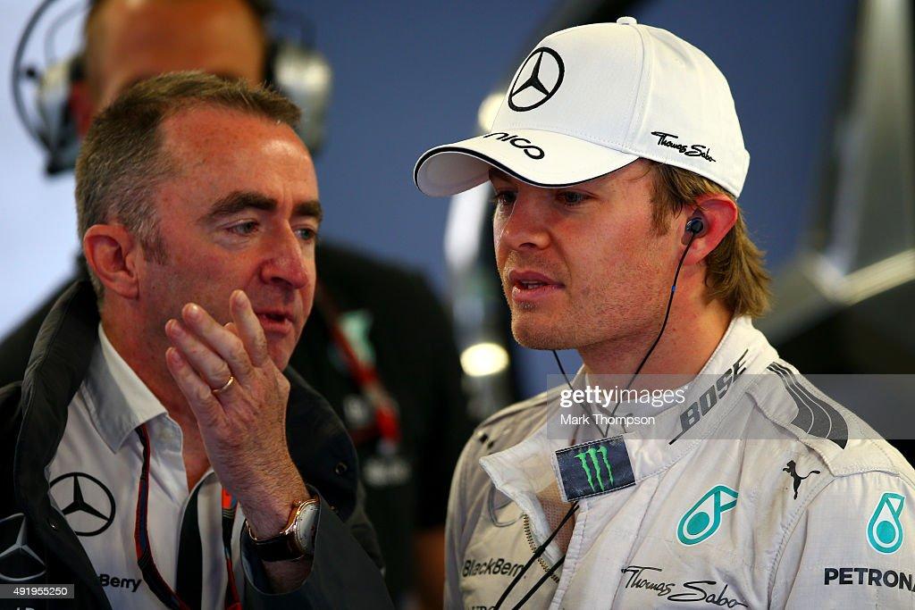 F1 Grand Prix of Russia - Practice : News Photo