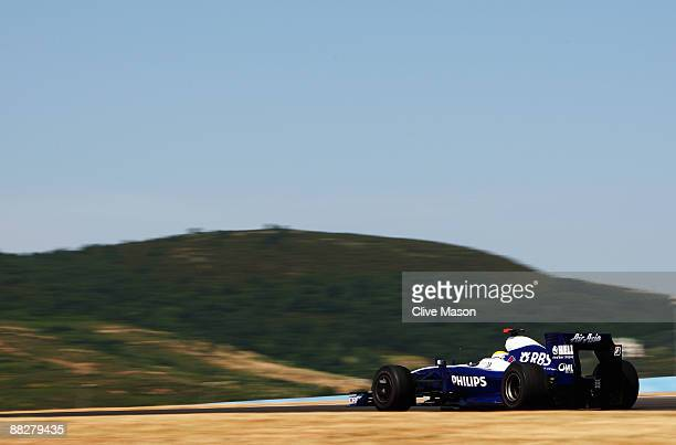 Nico Rosberg of Germany and Williams drives during the Turkish Formula One Grand Prix at Istanbul Park on June 7 in Istanbul, Turkey.