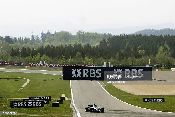 Nico Rosberg of Germany and Williams in action during the European F1 Grand Prix at the Nurburgring on May 7 in Nurburg, Germany.