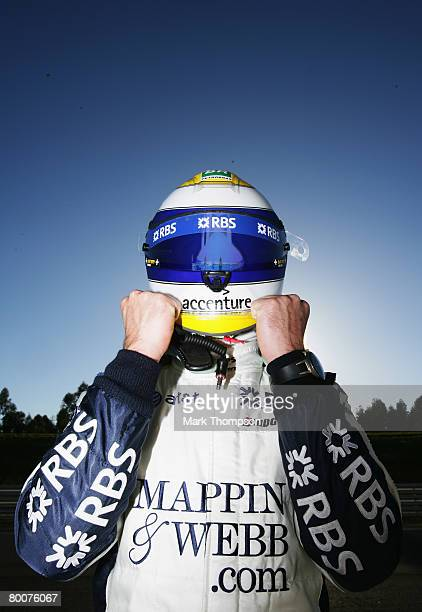Nico Rosberg of Germany and Williams is seen during preseason Formula One winter testing at the Monteblanco Circuit on December 10 2007 in Seville...