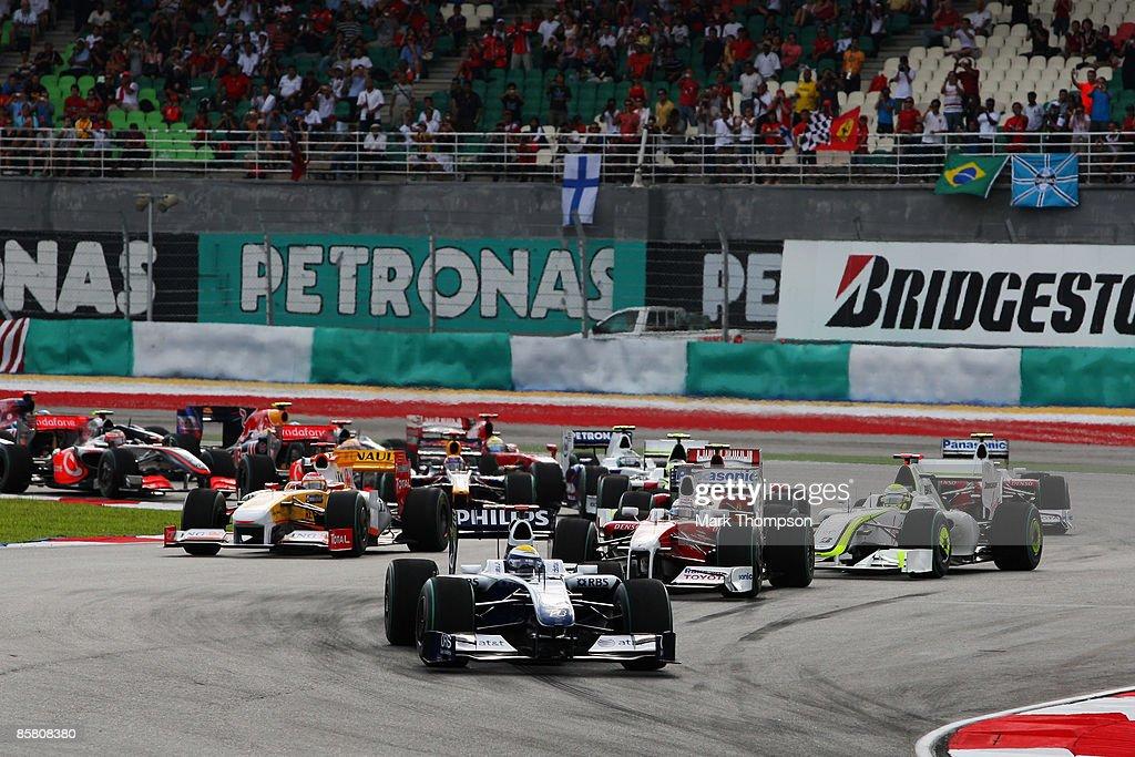 F1 Grand Prix of Malaysia - Race : News Photo