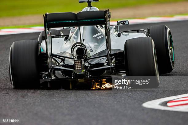 Nico Rosberg of Mercedes and Germany during practice for the Formula One Grand Prix of Japan at Suzuka Circuit on October 7 2016 in Suzuka