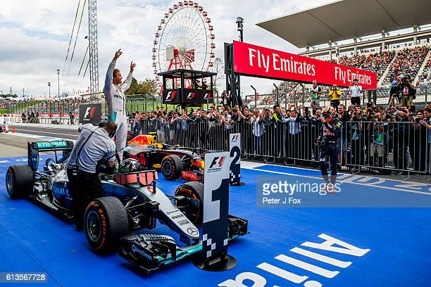 Nico Rosberg of Mercedes and Germany during the Formula One Grand Prix of Japan at Suzuka Circuit on October 9 2016 in Suzuka