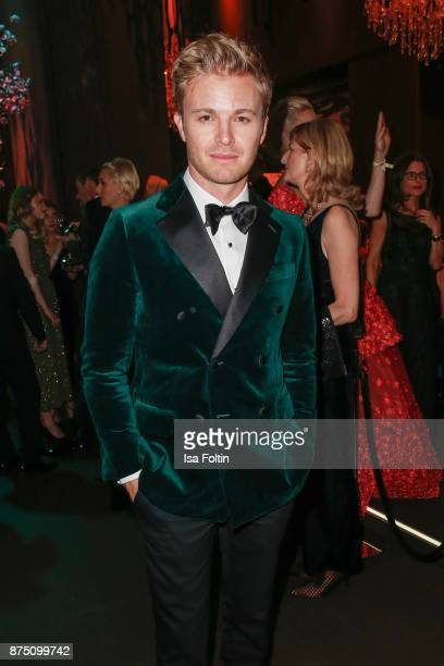 Nico Rosberg poses at the Bambi Awards 2017 party at Atrium Tower on November 16 2017 in Berlin Germany