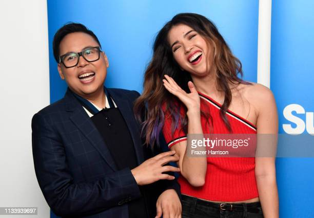 Nico Santos and Nichole Bloom attends NBC And Universal Television's Superstore Academy For Your Consideration Press Line at Universal Studios...