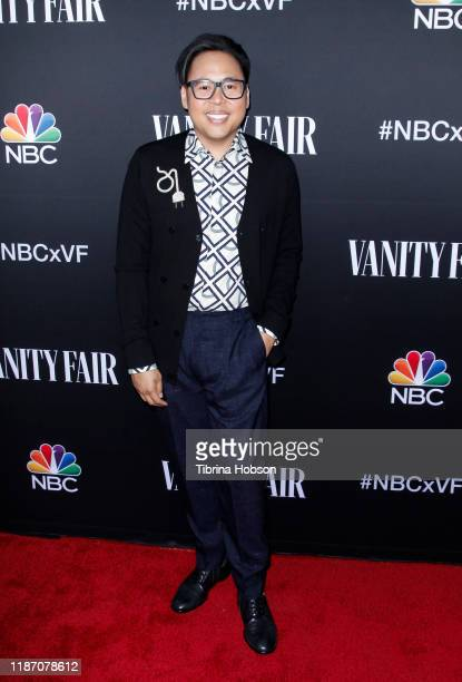 Nico Santos attends NBC and Vanity Fair's celebration of the season at The Henry on November 11, 2019 in Los Angeles, California.
