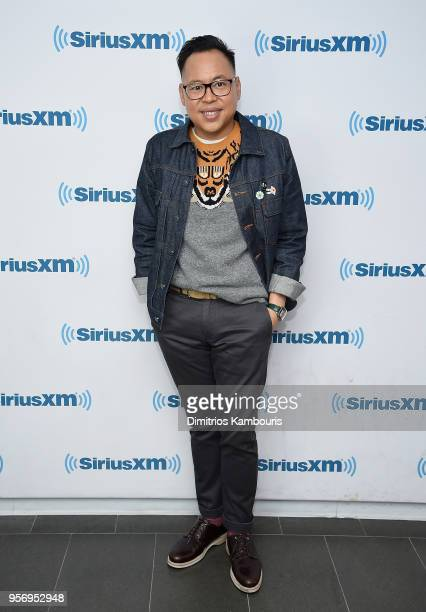 Nico Santos attends SiriusXM Studios on May 10 2018 in New York City