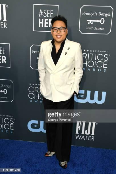 Nico Santos attends the 25th Annual Critics' Choice Awards held at Barker Hangar on January 12, 2020 in Santa Monica, California.