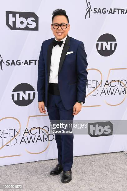 Nico Santos attends the 25th Annual Screen Actors Guild Awards at The Shrine Auditorium on January 27 2019 in Los Angeles California