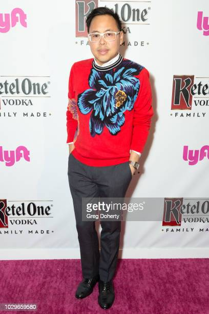 Nico Santos attends the Ketel One FamilyMade Vodka Celebrates Queer Eye Cast At PreEmmy Party at Kimpton La Peer Hotel on September 8 2018 in West...