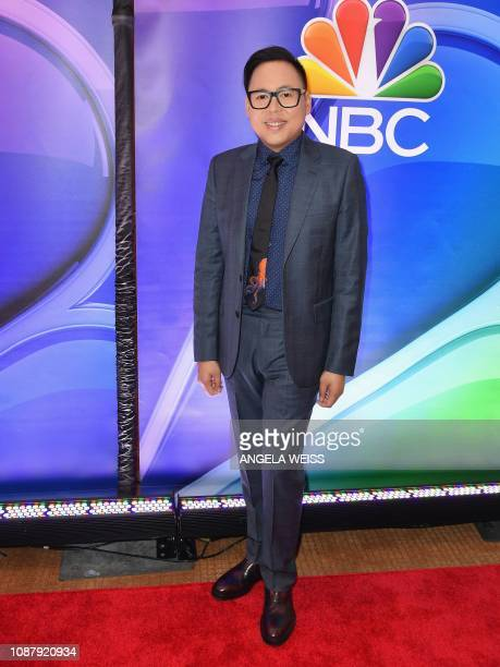Nico Santos attends the NBC midseason press junket at The Four Seasons in New York on January 24 2019